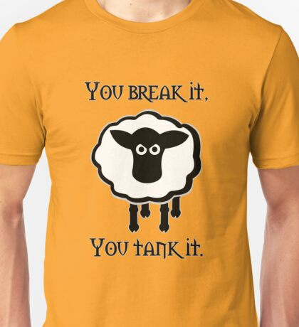 You Tank It - sheep (clean) Unisex T-Shirt