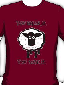 You Tank It - sheep (distressed) T-Shirt