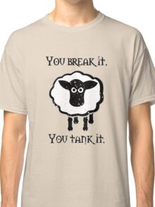 You Tank It - sheep (distressed) Classic T-Shirt