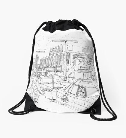 Rush Hour in Venneburg Drawstring Bag