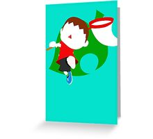 Super Smash Bros The Villager Greeting Card