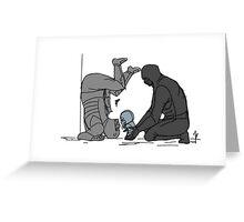 Big Bro and Lil Bro Greeting Card