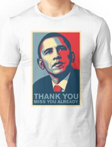Obama - Thank You, Miss You Already Unisex T-Shirt