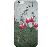 Fenced Flowers iPhone Case/Skin