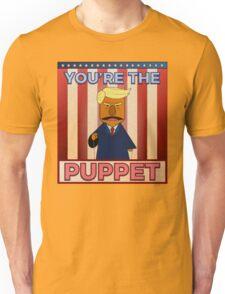 No puppet.  Unisex T-Shirt