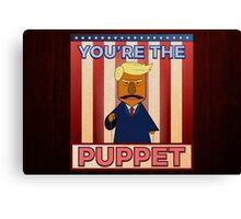 No puppet.  Canvas Print