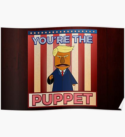 No puppet.  Poster