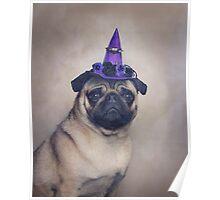 Peppa Pug Hates Halloween Poster