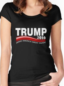 donald-trump-2016-l Women's Fitted Scoop T-Shirt