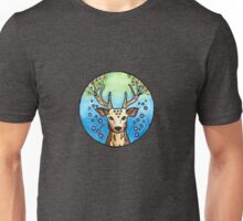 Flower Deer  Unisex T-Shirt