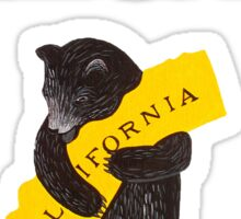 I Love You California Sticker