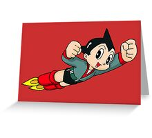 astro boy Greeting Card
