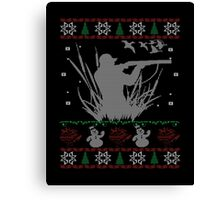 Duck Hunting Christmas Canvas Print