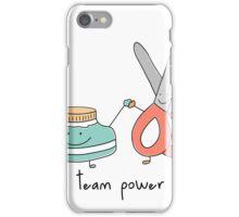 Team power iPhone Case/Skin