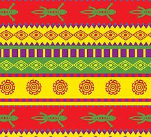 fancy mexican styled pattern by los-ojos-pardos