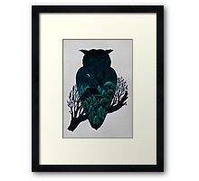 Owlscape Framed Print