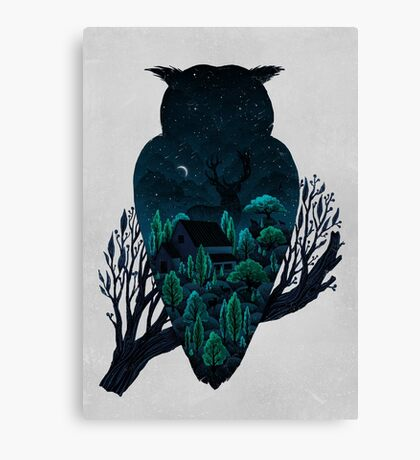 Owlscape Canvas Print