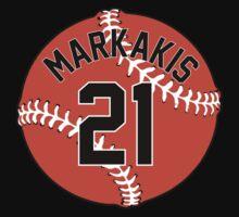Nick Markakis Baseball Design by canossagraphics
