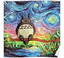 My Neighbor Totoro Oil Paint Poster
