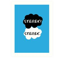 Sterek - TFIOS Art Print