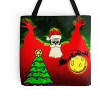 CHRISTMAS - SCREAM FLYING DUTCHMAN SANTA CLAUSE Tote Bag