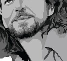 Eddie Vedder portrait Sticker