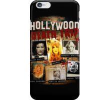 Hollywood Death Trip T-Shirt iPhone Case/Skin
