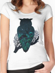 Owlscape Women's Fitted Scoop T-Shirt