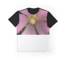 """""""Mallow"""" Wildflower in the Shade Graphic T-Shirt"""