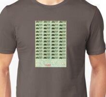 United States World War II Ration Coupons 1943 Unisex T-Shirt