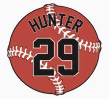 Tommy Hunter Baseball Design by canossagraphics