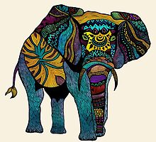 Elephant of Namibia by Pom Graphic Design