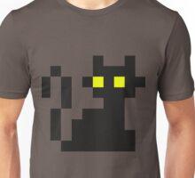 Mini Pixel Black Cat Unisex T-Shirt