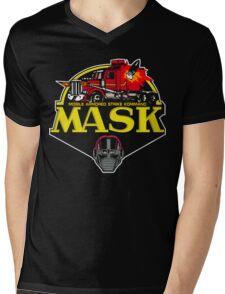 MASK Mobile Armored Strike Kommand Retro 80's Cartoon Mens V-Neck T-Shirt