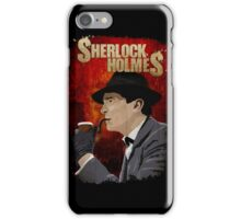 Sherlock Holmes Jeremy Brett T-Shirt iPhone Case/Skin