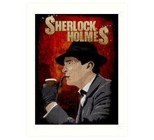 Sherlock Holmes Jeremy Brett T-Shirt Art Print