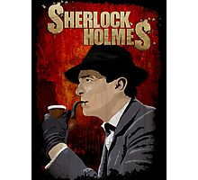 Sherlock Holmes Jeremy Brett T-Shirt Photographic Print
