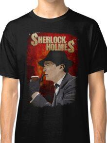Sherlock Holmes Jeremy Brett T-Shirt Classic T-Shirt