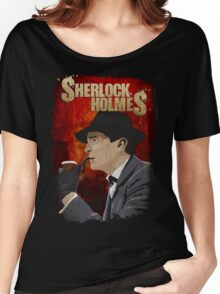 Sherlock Holmes Jeremy Brett T-Shirt Women's Relaxed Fit T-Shirt