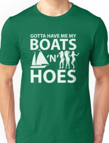Boats 'N Hoes Sexy girl Unisex T-Shirt