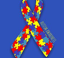 Autism Awareness Ribbon by flippinsg
