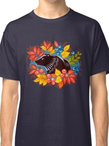 The Bear in autumn forest Classic T-Shirt