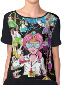Science With Princess Bubblegum Chiffon Top