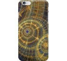 Steampunk clock machine iPhone Case/Skin