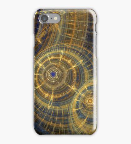 Steampunk clock machine iPhone Case/Skin