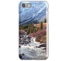 Elbow pass creek iPhone Case/Skin