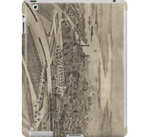 Vintage Pictorial Map of Providence RI (1896) iPad Case/Skin