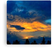 Morning Colors Canvas Print