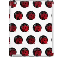 It's Game Time - Red (Pattern 1) iPad Case/Skin