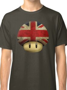 Union jack Mario's mushroom Classic T-Shirt